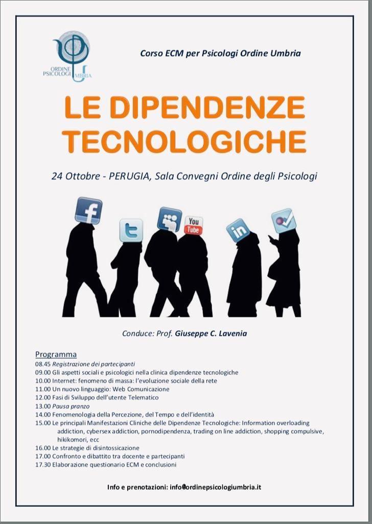 Le Dipendenze Tecnologiche Giuseppe Lavenia