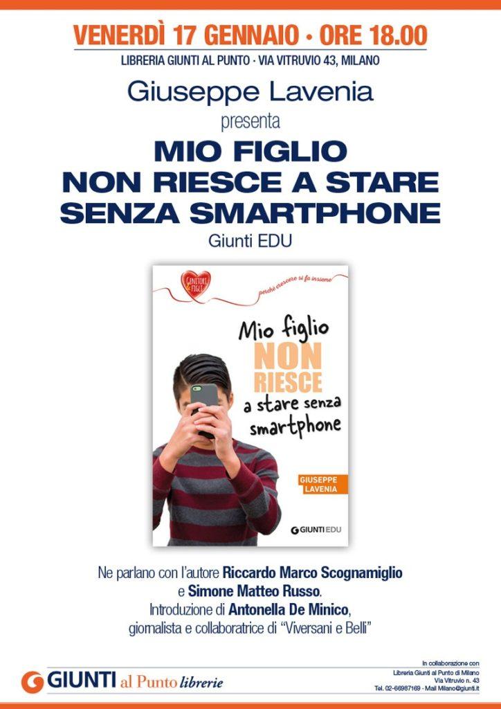 presentazione mio figlio non riesce a stare senza smartphone milano 17 gennaio 2020