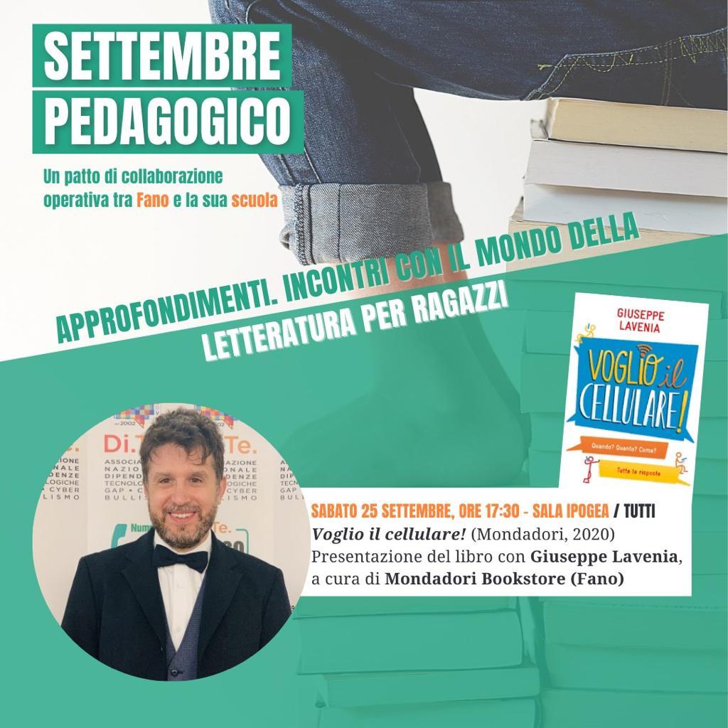 settembre pedagogico giuseppe lavenia